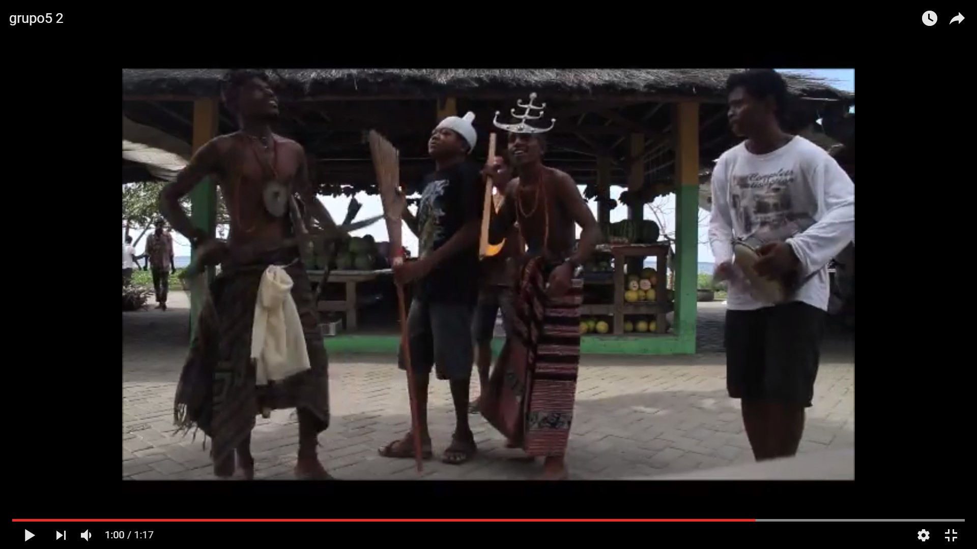 Dança cultura timor-leste